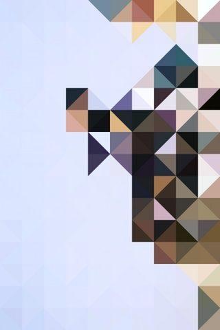 #triangle #graphic #pattern #geometric