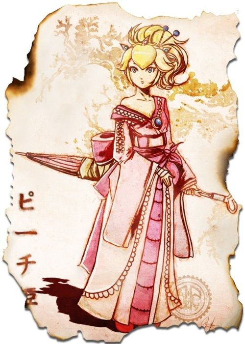 Japanese Peach. I would love to cosplay this!