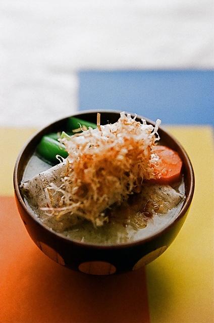 Japanese mochi soup ???