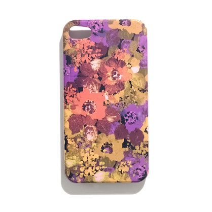 floral iphone 4 case - madewell