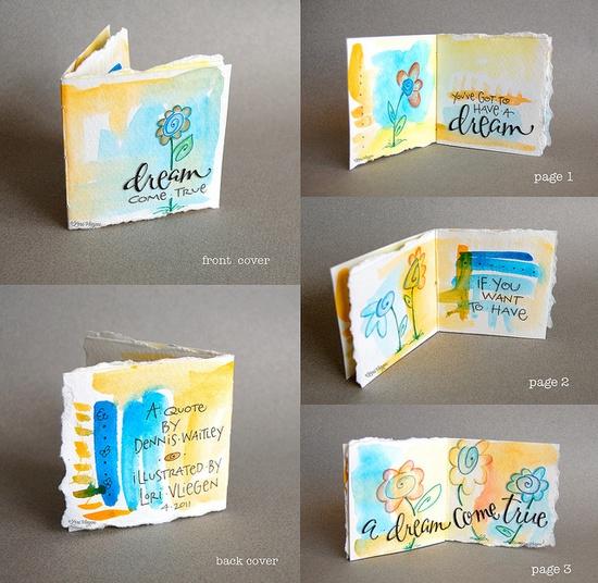 I love this mini-book--gorgeous