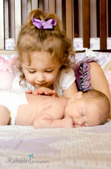 Family Photo - Toddler & Baby Girl