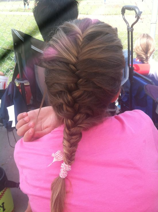 Fishtail and French Braid mixed