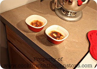 Jarrod's Creme Brulee  {what's cookin' with the johnstons}