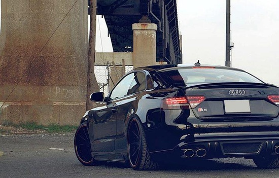 Murdered out Audi S5!!! LOVE THIS I WANT THAT SHOOO