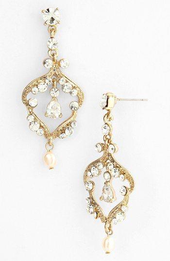 Nina 'Arizona' Open Drop Earrings