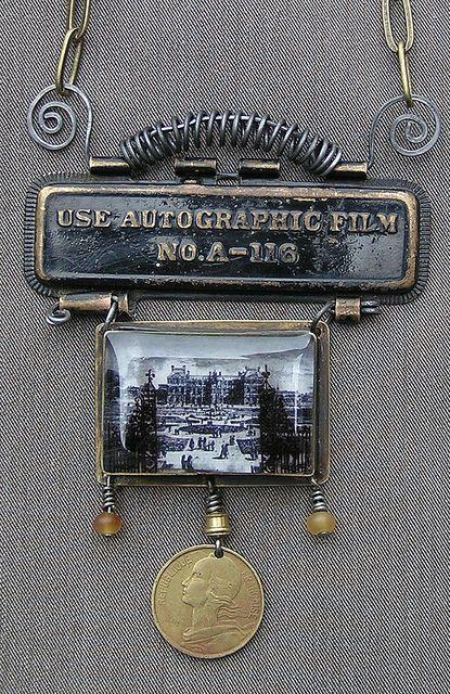 paris pendant by c*a*r*o*l*y*n, via Flickr