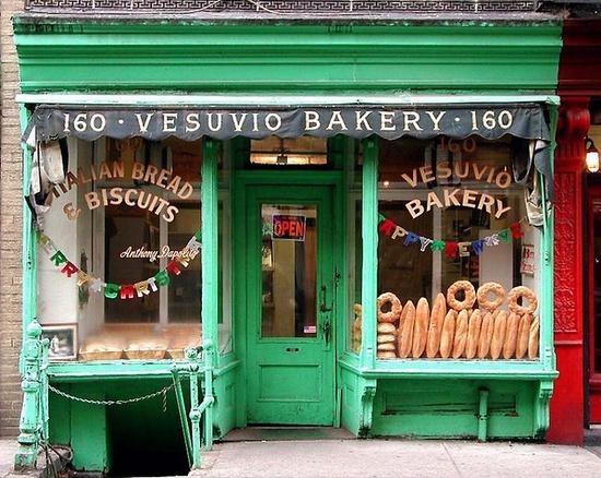 vesuvio bakery store front