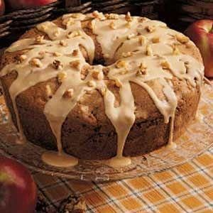 Caramel Apple Cake Recipe - Joybx