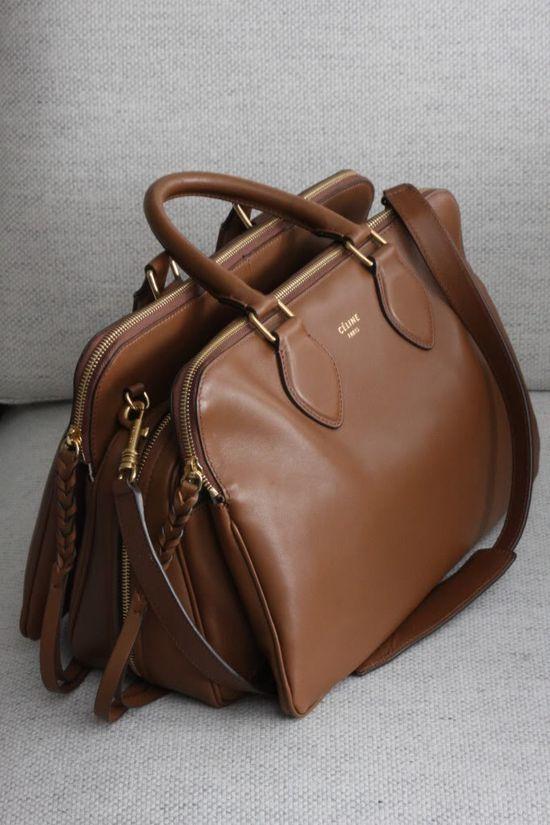yummy brown Celine handbag