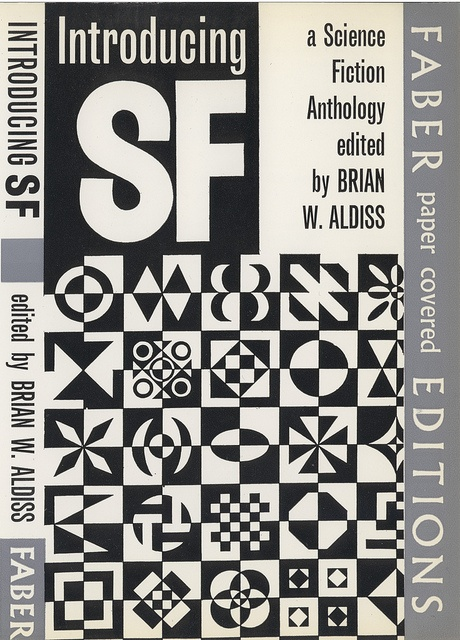 Introducing SF by Brian Aldiss: designed by Berthold Wolpe, 1960s