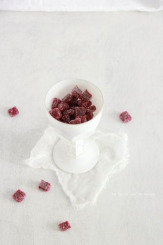 patedefruits067 Pâtes de fruits aux framboises