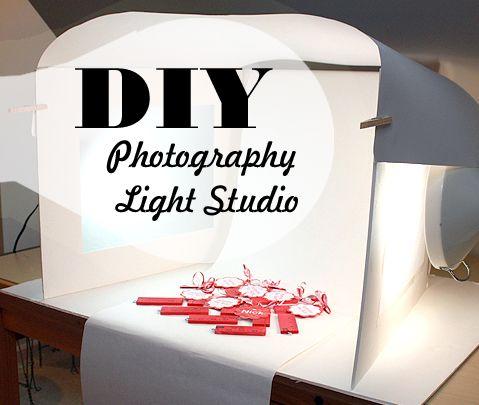 DIY photography light studio