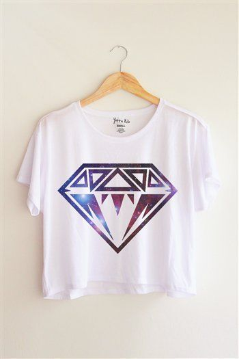 *love the universe* *nice shirt option/ crop top* diamond...I need this!!!