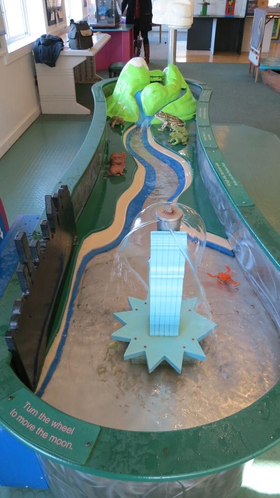 Stream Table - Children`s Museum