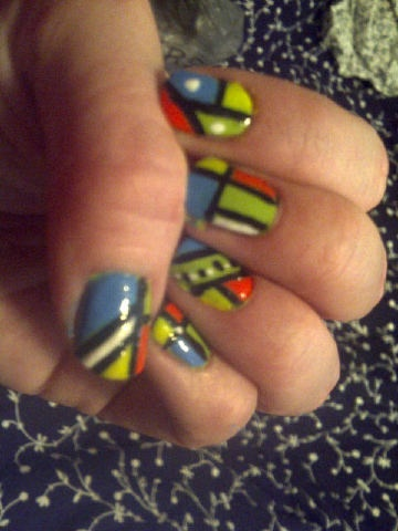 Nails by @TiffanyMPatton      Are your nails more styled than your outfit? Do you have more art on your fingertips than your walls? Is your stash of polish taking over every cupboard in your house? Sounds like you could have an Obsessive Fashion Disorder.     Email us a picture of your nail designs to mailto:OFD@asos.com or tweet us a pic with the hashtag #ASOSOFD and the coolest, craziest and most creative pics will be to be diagnosed with OFD will be posted on the ASOS Pinterest.