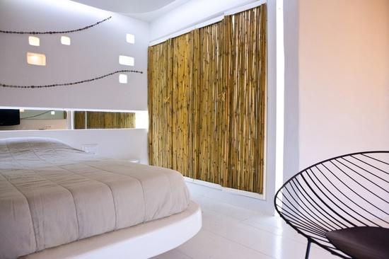 Futuristic hotel interior design