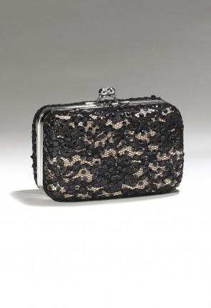 Handbags - Lace Box Handbag from Camille La Vie and Group USA