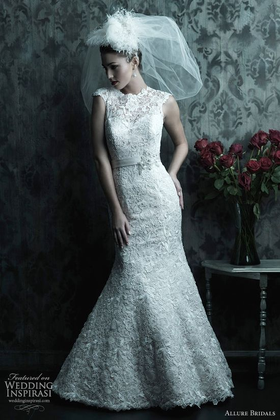Allure Bridals Fall 2012 couture collection