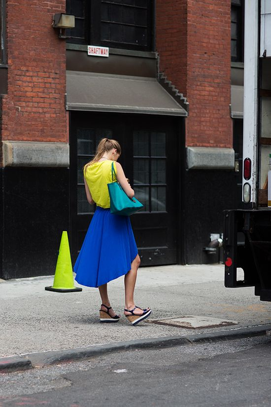 colours by The Sartorialist