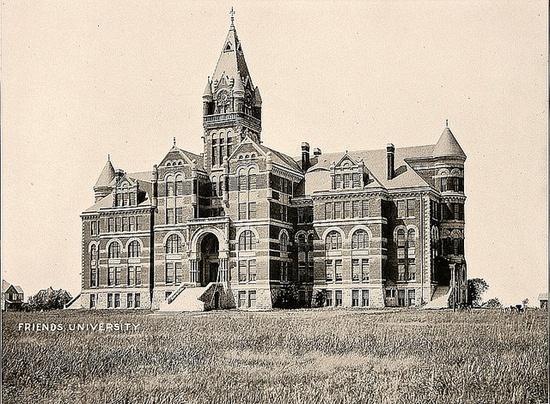 Garfield University, Wichita, KS, 1887-1893, now Friends University