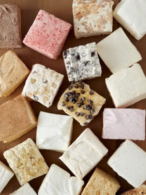 gourmet marshmallows.