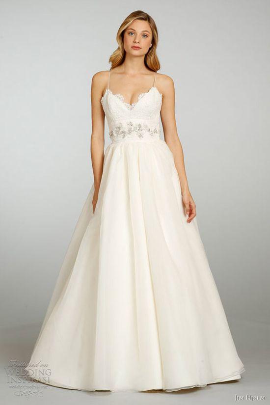 Jim Hjelm Spring 2013 Wedding Dresses