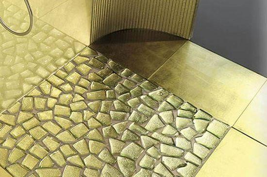 Material Bathroom Flooring Design Ideas