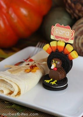 Thanksgiving- So cute, and easy to do
