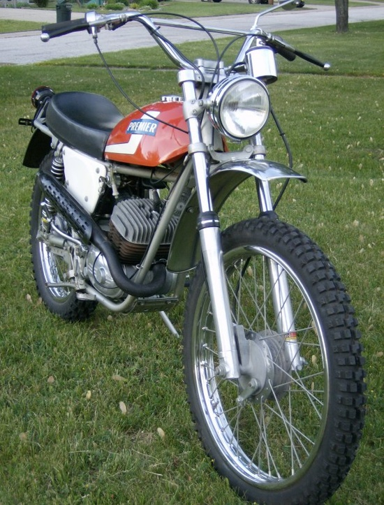 1968 Beta 125 Premier