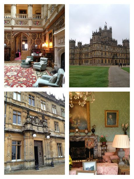 Highclere Castle - the real  Downtown Abbey
