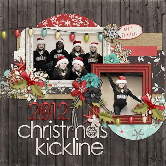 2012 Christmas Kickline - Scrapbook.com