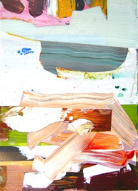 "Saatchi Online Artist pier wright; Painting, ""my boat has struck a great thing"" #art"