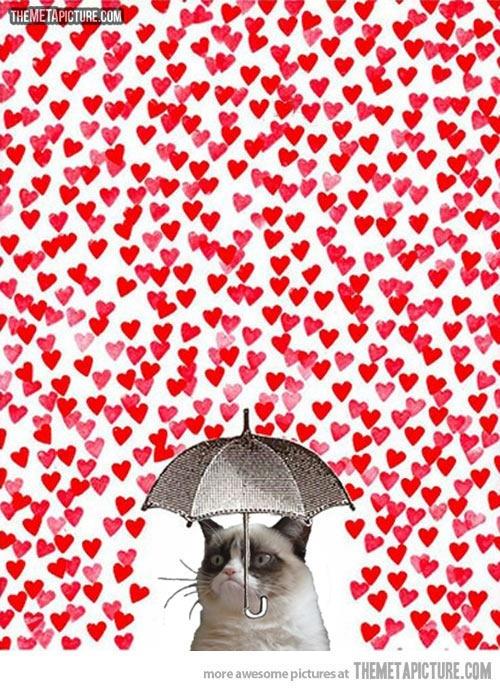 Grumpy Valentine's Day…