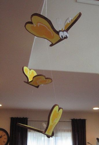 Bread and Butterflies decor