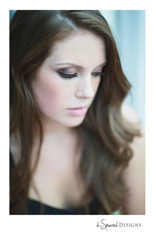 purple eye makeup by Emily Miller