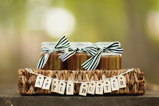 Apple Butter Wedding Favors - Love & Lavender