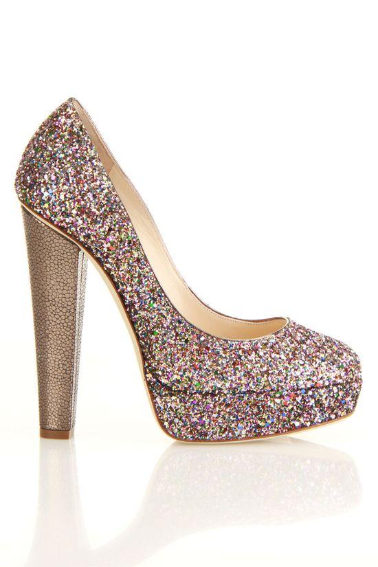 Glitter pumps / Jimmy Choo