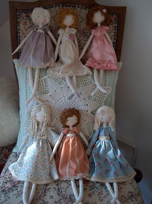 handmade dolls and bags