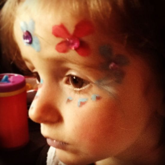 My face painting