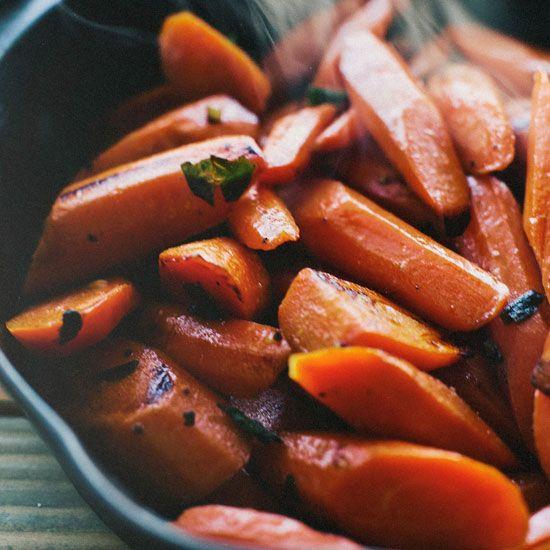 Sautéed Carrots with Lemon and Marjoram // More Healthy Vegetable Dishes: www.foodandwine.c... #foodandwine