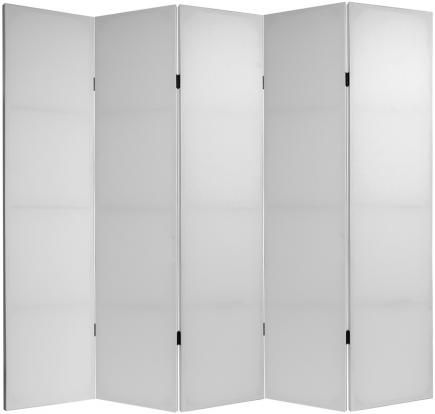 6 ft. Tall Do It Yourself Double Sided Canvas Room Divider