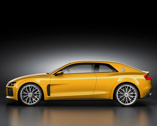 2013 Audi Sport Quattro Concept! Hit the image to watch Audi's promo video!