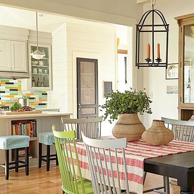 Cozy eating area just off the kitchen—perfect for everyday meals and entertaining