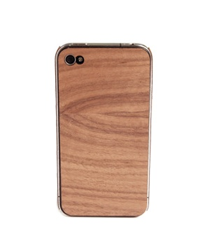 iPhone Wood Cover in Walnut