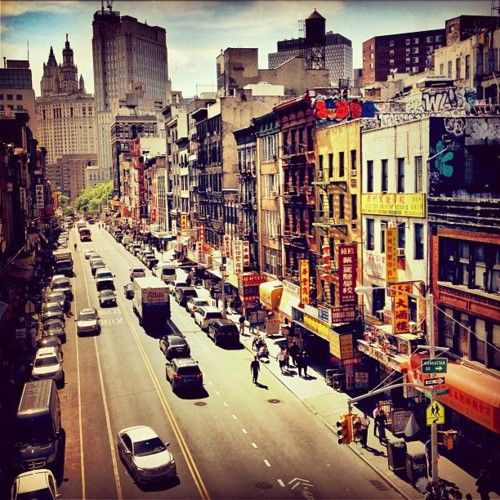 Lower East Side, New York City.  by.NY Through The Lens