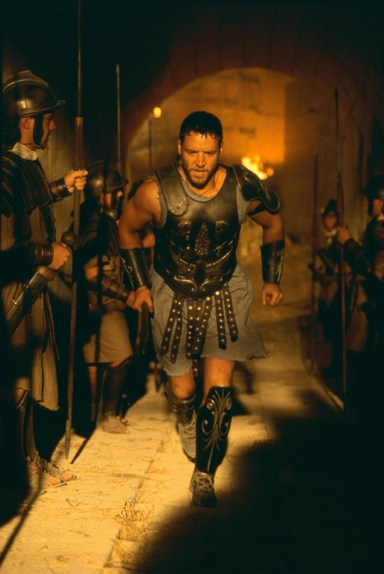 Gladiator     Russell Crowe--oh gee wow