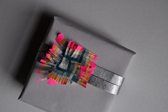 experiments in packaging with masking tape by essimar