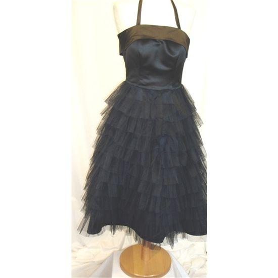 Tobi Hannah (#Vintage Style) Black TuTu #Dress
