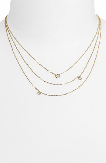 Bony Levy 3-Row Diamond Necklace (Nordstrom Exclusive)